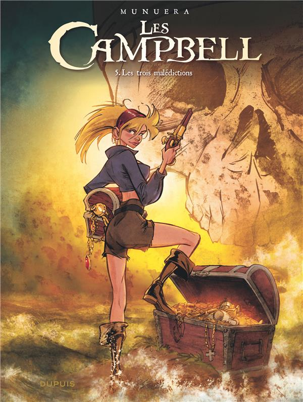 LES CAMPBELL - TOME 5 - LES TROIS MALEDICTIONS